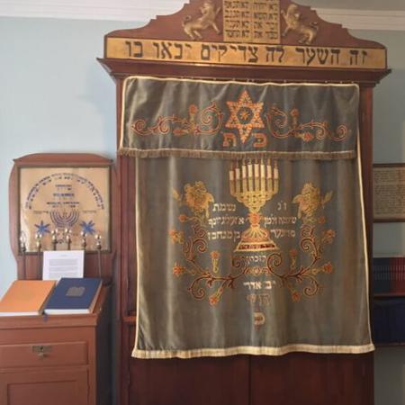 Interior da Sinagoga de Lisboa. Tour Judaico em Lisboa