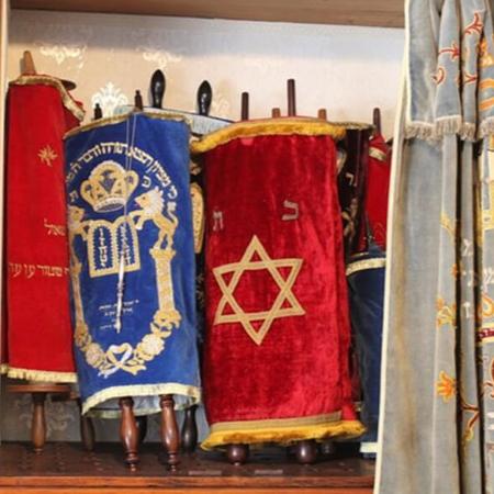 Artefactos da Sinagoga de Lisboa.